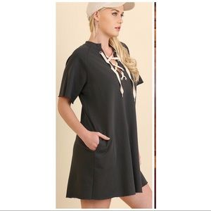 Umgee tunic dress with pockets